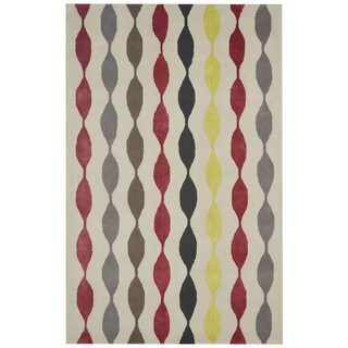 Rizzy Home New Zealand Wool Gillespie Avenue Hand-tufted Accent Rug (2' x 3')