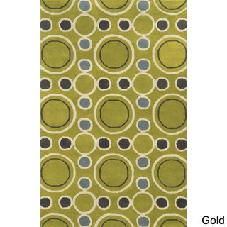 Rizzy Home Hand-tufted Gillespie Avenue Wool and Viscose Accent Rug (3' x 5')