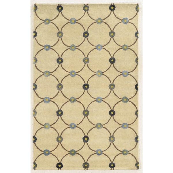 Rizzy Home Gillespie Avenue Hand-tufted Wool and Viscose Accent Area Rug (8' x 10') - 8' x 10'