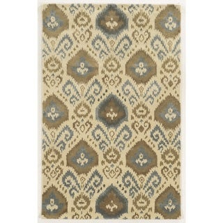 Rizzy Home Gillespie Avenue Hand-tufted Wool Accent Rug (8' x 10') - 8' x 10'