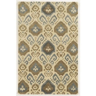 Rizzy Home Gillespie Avenue Hand Tufted 100-percent Wool Accent Rug (2' x 3')