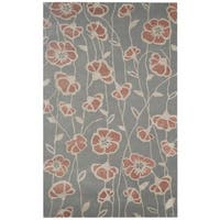 Rizzy Home Hand-tufted Gillespie Avenue New Zealand Wool Accent Rug (9' x 12')