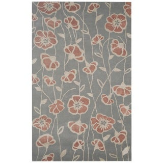 Rizzy Home Gillespie Avenue Hand-tufted New Zealand Wool Accent Area Rug (8' x 10')