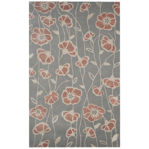 Rizzy Home Gillespie Avenue Hand-tufted New Zealand Wool Accent Rug (8' x 10')