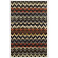 Rizzy Home Gillespie Avenue Hand-tufted New Zealand Wool Accent Rug - 9' x 12'