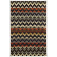 Rizzy Home Gillespie Avenue Hand-tufted New Zealand Wool Area Rug (5' x 8') - 5' x 8'