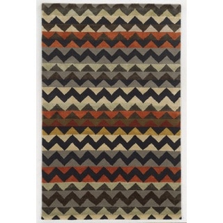 Rizzy Home New Zealand Wool Hand-tufted Gillespie Avenue Accent Rug (2' x 3')