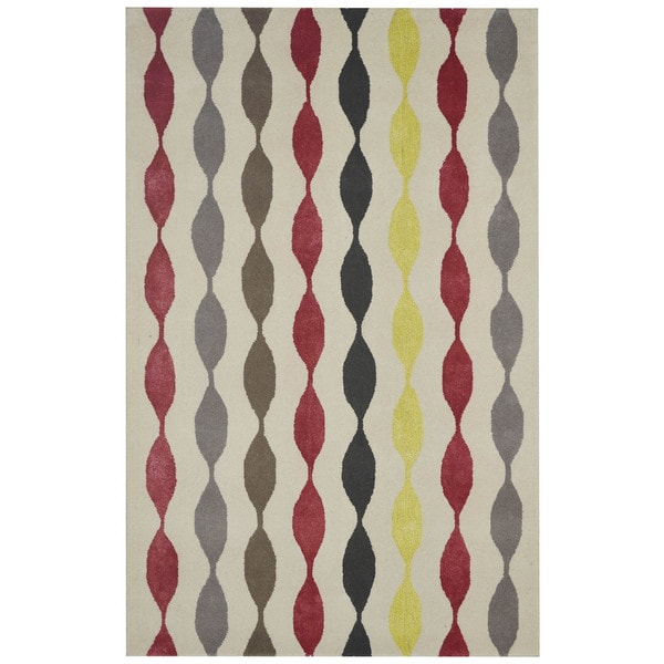 Rizzy Home Gillespie Avenue New Zealand Wool Hand-tufted Accent Rug - 9' x 12'