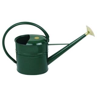 English Garden Haws Slimcan 2 Gallon Galvanized Metal Watering Can