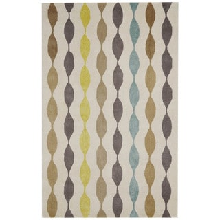 Rizzy Home Gillespie Avenue New Zealand Wool Hand-tufted Accent Rug (8' x 10')