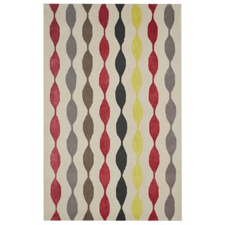 Rizzy Home Gillespie Avenue New Zealand Wool Hand-tufted Accent Rug (3' x 5')