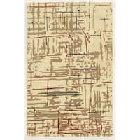 Rizzy Home Hand-tufted Gillespie Avenue New Zealand Wool Accent Rug (8' x 10')