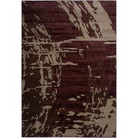 Rizzy Home Galleria Power-Loomed Machine-Made Polypropylene Contemporary Accent Rug (6' 7' x 9' 6) - 6'7 x 9'6