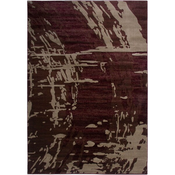 Rizzy Home Galleria Power-Loomed Machine-Made Polypropylene Contemporary Accent Rug (6' 7' x 9' 6)