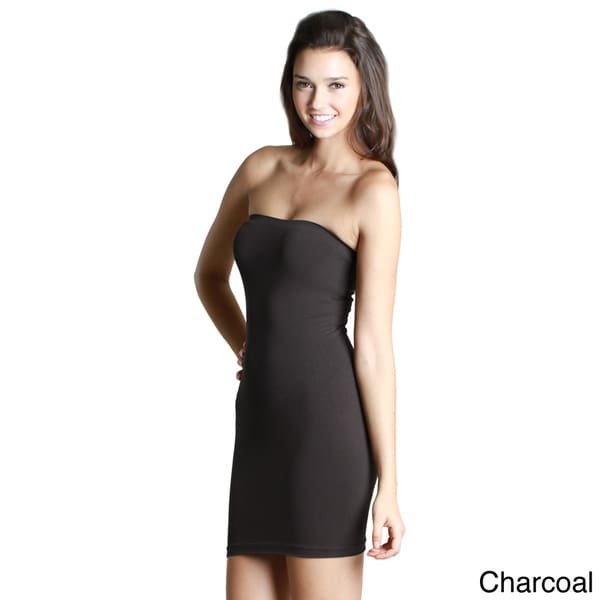 Shop Nikibiki Women's Seamless Tube Dress With Rib Band ...