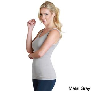 Nikibiki Women's Nylon/Spandex Seamless Basic Solid Jersey Tank Top (More options available)