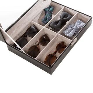 Safe Specs Embossed Leather Sunglasses Box