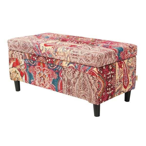 Jennifer Taylor Naomi Entryway Storage Bench - Free Shipping Today ...