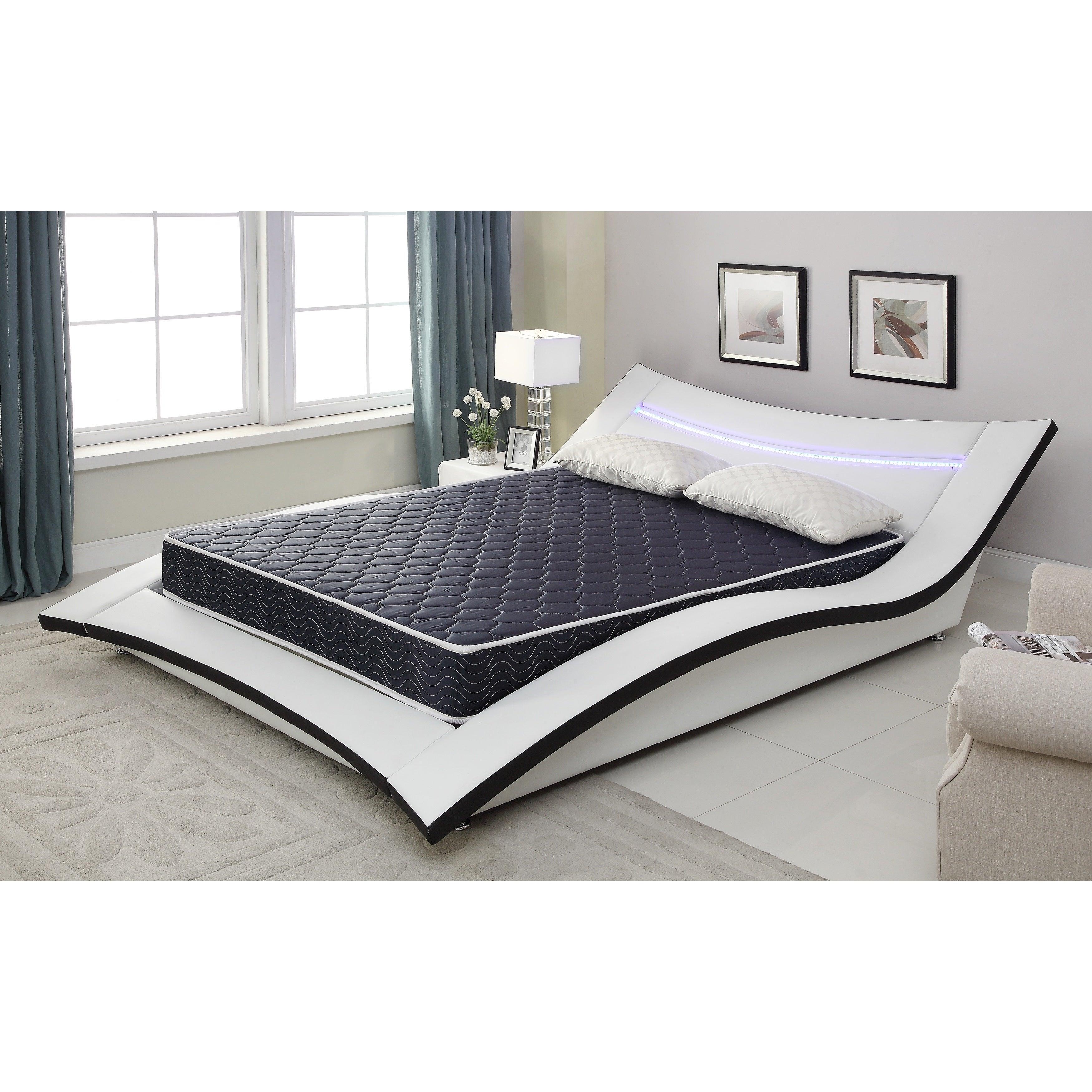 AC Pacific 6-inch Twin-size Foam Mattress with Water-resi...