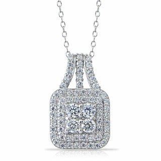 Link to Icz Stones Sterling Silver Cubic Zirconia Necklace Similar Items in Necklaces