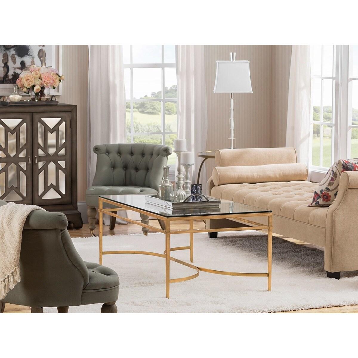 Jennifer Taylor Eliza Upholstered Sofa Bed, Parchment (Bi...