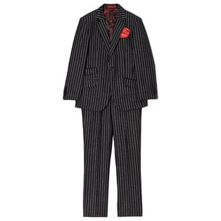 Boys' Wool Blend Pinstripe 2-piece Suit