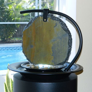 Zen Moonshadow Tabletop Fountain