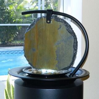 Zen Moonshadow Tabletop Fountain