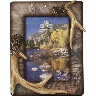Rivers Edge Camo Antler Picture Frame (5 inches x 7 inch)