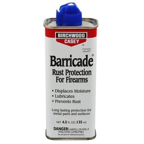 Birchwood Casey Barricade Rust Protection 4.5-ounce Spout Can