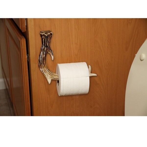 Rivers Edge Antler Toilet Paper Holder