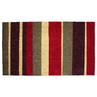 "Vinyl Back Coco Multi Stripes Doormat (18"" x 30"")"