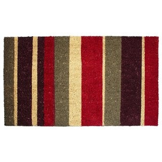 "Vinyl Back Coco Multi Stripes Doormat (18"" x 30"")"