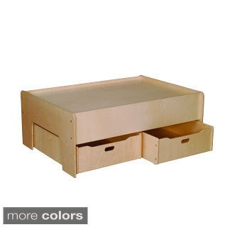Little Colorado Baltic Birch Plywood Play Table and Storage Drawers