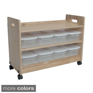 Little Colorado Toy Organizer with Casters