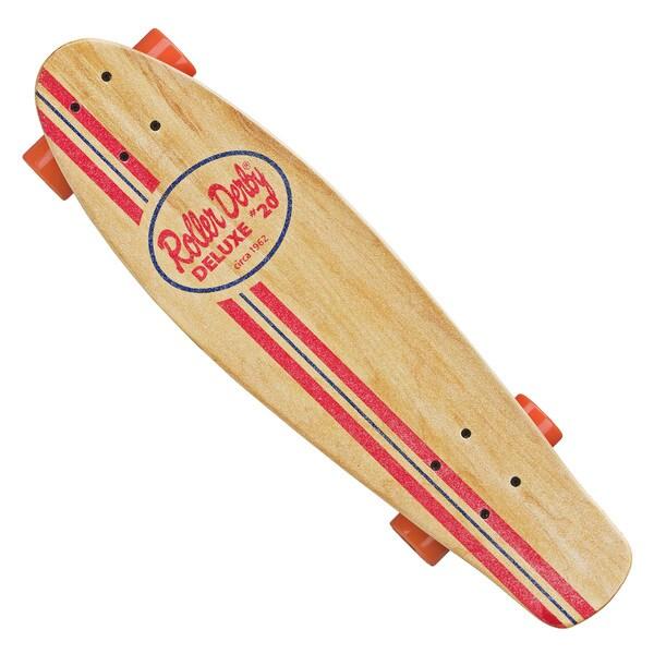 Roller Derby RD #10 Natural Retro Skateboard