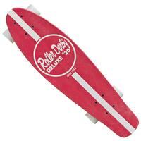RD #10 Retro Skateboard Red