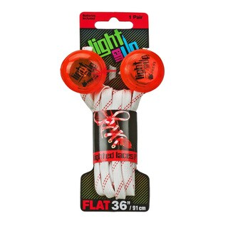 Light Em Up LED 36-inch Lighted Laces (Option: Red)