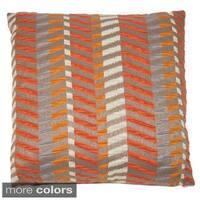 Michael Amini Metro Decorative 22-inch Accent Pillow