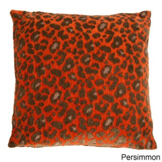 Michael Amini Wildlife Decorative  22-inch Accent Pillow