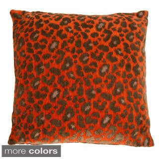 Michael Amini Wildlife Decorative 22-inch Accent Pillow