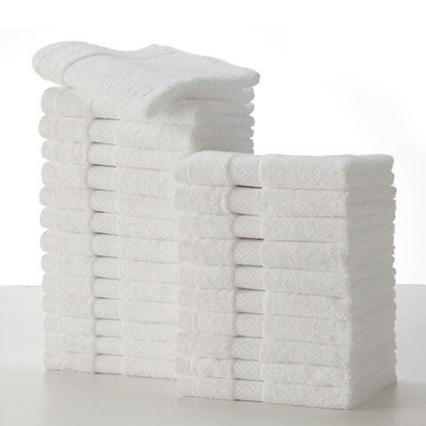 Carbon Loft Fresnel Commercial Washcloth (Pack of 24)