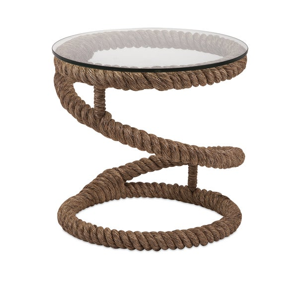 Amazing Bedford Jute Rope Accent Table