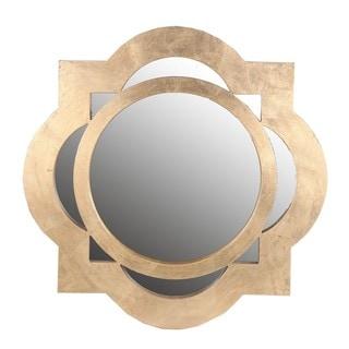 Privilege Gold Accent Mirror