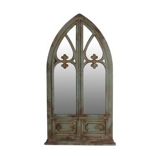 Privilege Vintage Wooden Wall Mirror