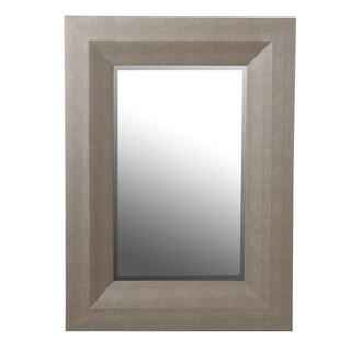 Privilege Grey 40-inch Shagreen Wall Mirror