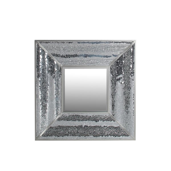 Privilege Beveled Square Mosaic Mirror