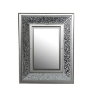 Privilege Beveled Rectangle Mosaic Mirror