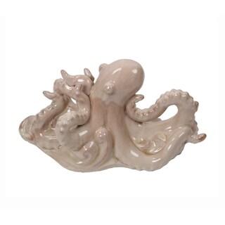 Privilege Cream Cream Ceramic Octopus