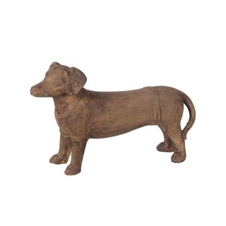 Privilege Brown Ceramic Dachshund